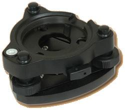 Seco Standard-Precision Tribrach - Non-Optical Plummet (#2153-07-BLK)