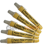 Nu-Mark PT2000: Paint-This! Paint Marker - WHITE (Box of 12)