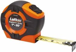 Lufkin 25 Hi-Viz Engineers Power Tape (#PHV1425D)