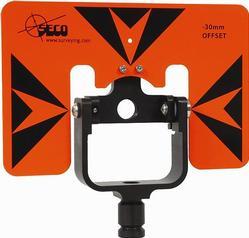 """Seco Rear Locking 62mm Premier Prism Holder & Target 6 x 9"""""""