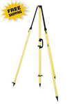 Seco Fixed-Height GPS Antenna Tripod w/ 2m Center Staff (#5115-00)