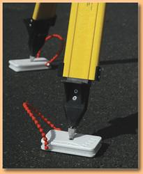 Sta-Level 2 Tripod Foot System (Smooth Surface)