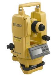 """Topcon 7"""" Digital Theodolite w/ Laser Pointer (#DT-207L)"""