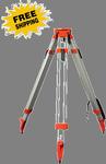 Crain Heavy-Duty Aluminum Square Leg Tripod, Quick Clamp - Flat Head (#5301-31)