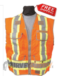 8260 Class 2 U.S. and Canadian Dual Standard Safety Utility Vest