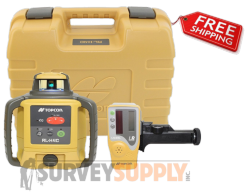 Topcon RL-H4C Construction Laser Level DB Kit (Alkaline Battery) Model #57177