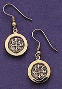 Medium Cross Wrap Dangle Earings - Set