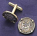 Cross of the Crusades Cuff Links