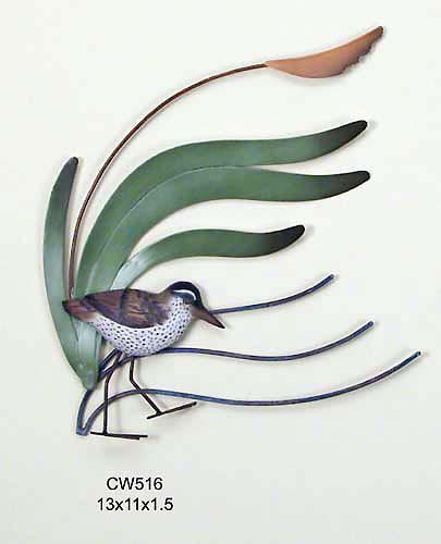 Single Sandpiper, Wave, Bird, Wall Art
