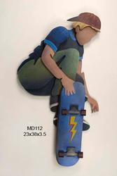 Skateboarder II Lightning Board