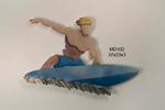 Surfer Blue Board