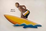 Surfer II MDF Yellow Board