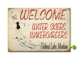 Welcome Water skiers