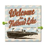 Welcome to the Lake Matchbook