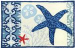 Italian Tile with Starfish