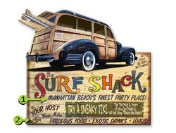 The Surf Shack VW Bus