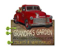 Old Red Truck Farm