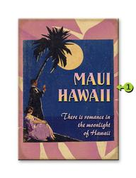 Romance in the Moonlight of Hawaii