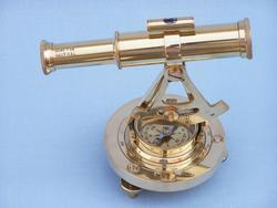 "Brass Alidade Compass 7"""