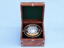 """Brass Gimble Compass 7"""""""
