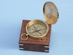 """Admirals Brass Sundial Compass 4"""""""