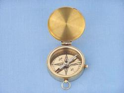 Cadets Brass Pocket Compass 2""
