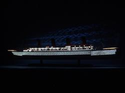 "Titanic 40"" with Lights"