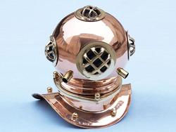 Copper Divers Helmet 9""