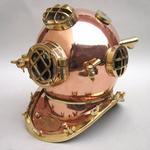 "Copper Divers Helmet Mark Five 18"""