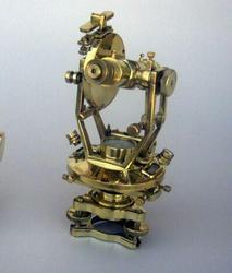 """Brass Theodolite 10"""""""