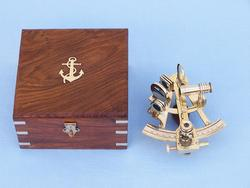 """Scouts Brass Sextant 4"""""""