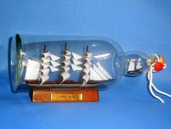 Cutty Sark Ship in a Bottle 11""