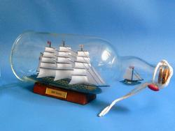 HMS Victory Ship in a Bottle 11
