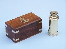 """Scouts Brass Spyglass 6"""""""