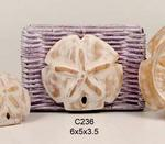 Sand Dollar Napkin Holder