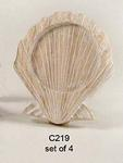 Scallop Coasters