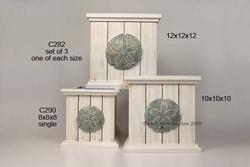 Planter Sanddollar Boxes