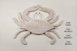 Antique Nautical Crab Large