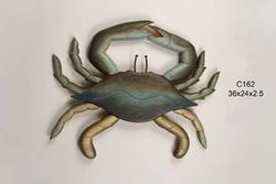 Blue Crab Carved Large