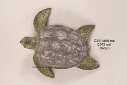 Antique Naut Sea Turtle Large