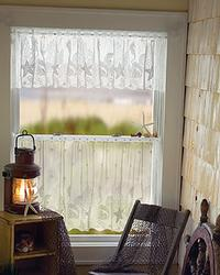 Seascape Curtain: Valance