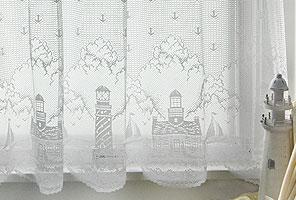 lighthouse curtain: 60x30 tier
