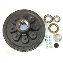 "7K 8 Lug on 6.50"" BC -12"" Hub & Drum Kit - 1/2 "" Studs"