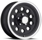 Aluminum Trailer Tire S40 Black
