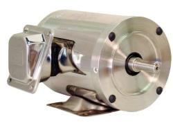 1 HP WEG 3600 RPM 56HC Foot Mount Stainless Steel TENV