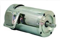 1 HP WEG 1800 RPM 56C Footless Stainless Steel