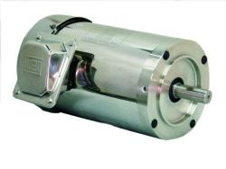 1 HP WEG 1800 RPM 143TC Footless Stainless Steel