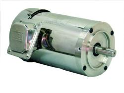 2 HP WEG 3600 56C Footless Stainless Steel Motor