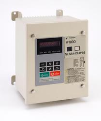 1/8 HP Yaskawa VFD Normal Duty V1000 Nema 4X 3 Phase CIMR-VU2A0001GAA