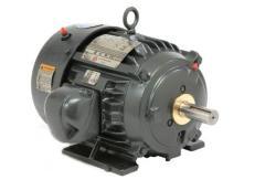 15 HP US Motors 1200 RPM 284T TEFC 3PH IEEE 841 Motor 8P15P3C